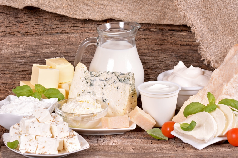 calcium from dairy products